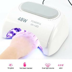 48W LED UV Nail Dryer Gel Polish Lamp Light Nail Dryers Machine Curing Manicure