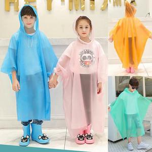 2019 New Children Funny Baby Raincoat Cartoon Kids Rainwear Waterproof Hot New Cute Korean Children's Rain Gear Poncho Festival