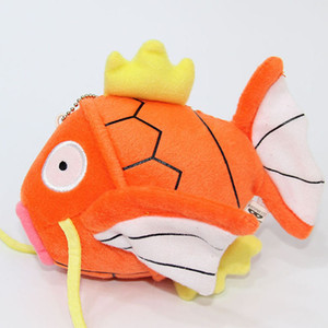 Golden carp Plush Toys cartoon 15cm 6 inches Stuffed Animals Party Gift Decorations Keychains Pendants Z0480