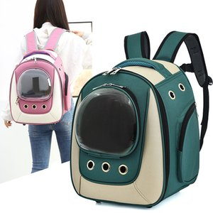 Pet sealed backpack cat backpack DOG BUBBLE large area backpack cat and dog outdoor handbag