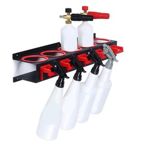 Spray Bottle Storage Rack Abrasive Material Hanging Rail Car Beauty Shop Accessory Display Auto Cleaning Detailing Tools Hanger