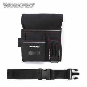 WorkPro Multifunktionsgürtelwerkzeugtasche Werkzeughalter Elektriker Hüfttasche Praktische Arbeit Organizer Nduh #