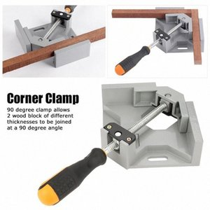 Single Handle 90°Right Angle Clamp Quick Release Corner Clamp Glass Tank Picture Frame Fixed Clip High Quality Hand Tool Fy4p#
