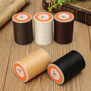 DIY 115m Wax Line Round Leather Craft Tool 0.55mm For Shoe Sewing Thread Hand Stitching Sewing Thread Cloth Leather