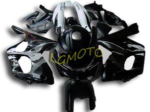 ABS carénages d'injection pour l'argent blk YAMAHA YZF600R Thundercat 97-07 1997-2007 kits carrosserie moto Capots YZF 600R Carrosserie kit carénages