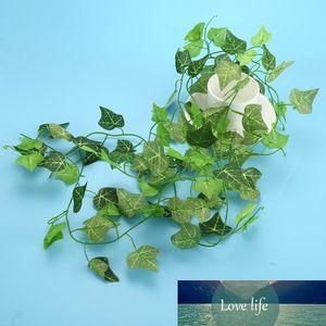 Durable Wedding Party Office Ivy Vine Foliage Artificial Plastic Silk Cloth Green Leaf Garland Plants Household Garden Supplies