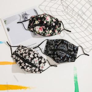Creative-Zipper-Gesichtsmaske Reißverschluss-Entwurf Leicht Waschbar Wiederverwendbare Covering Schutz Designer-Gesichtsmasken zu trinken w-00425