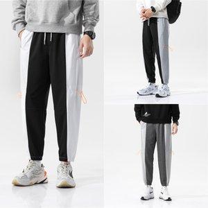 İlkbahar ve sonbahar Harlan spor erkekler rahat spor pantolon Kore moda ortaokul ve lise studentsnine noktası Harun korse