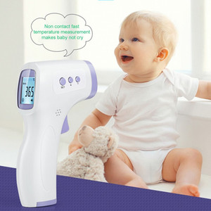 Household Non-contact Infrared Thermometer ABS for Adults and Children with Lcd Display Digital Laser Temperature Tool