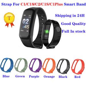 Hohe qualität Silikonband Smart Armbandarmband für Smart Bracelet C1 C2 C18 C1S C1 Plus Smart Armband Ersatzgurt