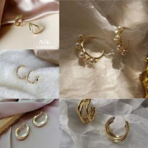Svoz Charm Baroque Coreano Zircon Zircon Micro-Inlaid Orecchini orecchini con Swarovski Gothic carino orecchini gioielli moda gioielli di moda cristallo di natale