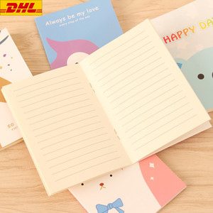 Notebook Diary Notepad Notebook Book Cartoon Image Notebook Vintage For Kids Stationery Cute School Office Stationery Gift Free DHL