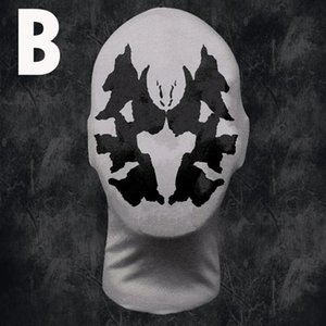 Halloween Magical Moving Inkblot Breath Mask Temperature-sensitive Ink Party Black Scary Particle Respirator Head Helmet Real Ma