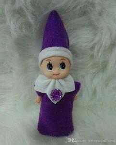 Cute Christmas Gift Baby Elf Doll Plush Boy Girl Elves Stuffed Dolls Kid Children Toys Decorations Gifts