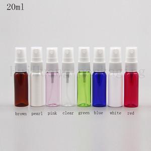 50pcs 20ml colored Fine sprayer pump empty plastic bottle,20cc perfume spray bottle mist
