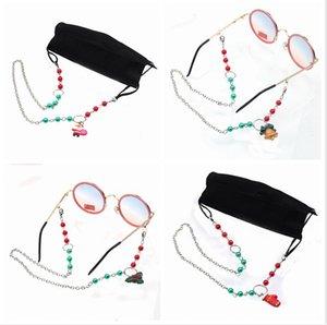 Masque Longe Extension imperdable chaîne Lunettes de Noël Masques de sécurité pratique repos Porte-oreille corde cou cordes Party Favor LJJP678