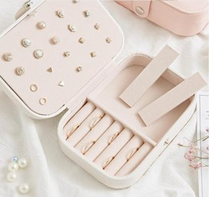 Box Rings Storage Necklace Jewelry Gwc3493 Pu Protable Organizer Jewelry Necklace Leather Earrings Case Box Travel Boxes sqcbV bbgargden
