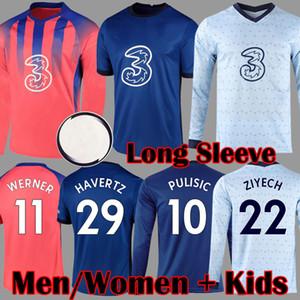 Chelsea 2020 2021 Preto camisa de futebol JORGINHO LAMPARD GIROUD camisa de futebol KOVACIC Camiseta WILLIAN 20 21 HUDSON ODOI KANTE maillot de foot