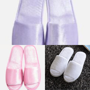 Bride High Quality with Name Title Custom Wedding Hen Party Bridesmaid Gift Hotel Slippers Spa Favor BG3T