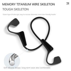 Hot Bone Conduction Headphones Bluetooth سماعة الرياضة اللاسلكية IP56 سماعة ستيريو يدي خالية من الميكروفون