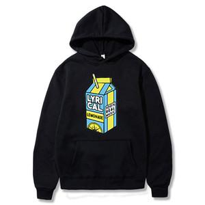 Lyrical Lemonade à capuche 100% Real Music drôle à capuche pour hommes / femmes Lyrical Lemonade pull avec capuche Sweatershirt c1009