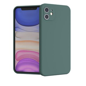Phone case for iphone 12 pro max phone case iphone 11 case Straight side soft case-Free DHL
