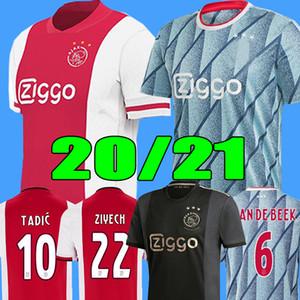 20 21 AJAX amsterdam camiseta de fútbol FC 2020 2021 KUDUS ANTONY BLIND PROMES TADIC NERES CRUYFF hombres kit de niños camiseta de fútbol uniformes tercero 50o