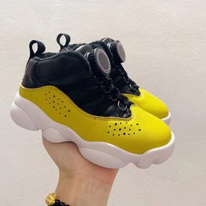 2020 Hebilla automática J6 Auto Bloqueo Vuelo Air Aire Libre Zapatos de baloncesto Boy Girl Youth Kid Basketball Boots Sneaker