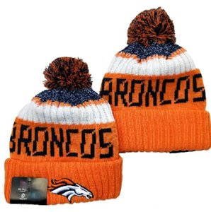 2020 Fashion All Team Baseball Beanies Team Embroidered BRONCOS Cuffed Knit Hat Sport Skull Knitting Winter Hats for Men Women a4