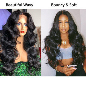 Full Lace Human Hair Wigs Pre Plucked Full Lace Human Hair Wigs For Women Body Wave Fake Scalp HD Transparent 30 Inch 360 Lace F
