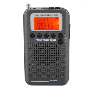 HOT Portable Aircraft Radio Receiver,Full Band Radio Receiver - AIR FM AM CB SW VHF,LCD Display With Backlight,Chip Has A Powerf1