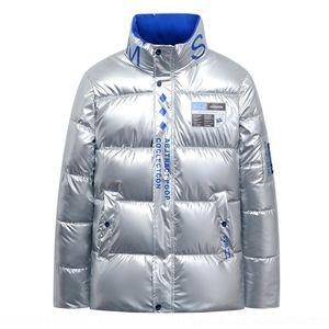 BWWP SLEEP T200930 Ceket Kadın Pullu Çan Kırpılmış Parka Kabarcık Ceket Kış 2020 Güz Pembe XL XXL Kirpi