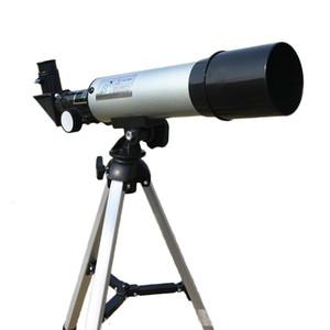 Taşınabilir Tripod Spotting Scope ile Yüksek Kalite Yakınlaştırma HD Açık Monoküler Uzay Astronomik Teleskop 360 / 50mm Teleskopik T191022