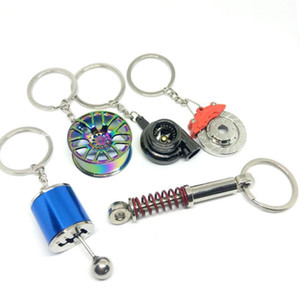 Car Modified Brakes Turbo Shape JDM Style Keychain Multi-Colors&Cute Shape For Key Chain Pendant on Waist gift Car Motorcycle