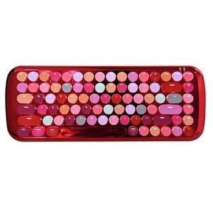 Mofii Bluetooth Mini Lipstick Mechanical Keyboard White Light Girl Cute Tablet Phone Universal Keyboard