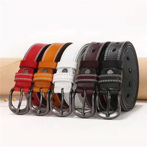 fashion new black belt for men's and women's belt, leather business belt and pure color belt were the topWelcome to pick and buy