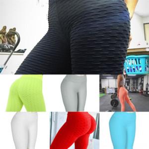 Pantaloni atletici VBZ Pantaloni sportivi Leggings Collant Push Up Yoga Pant per donna Plus Size Petite Plus Size Yoga Heart Calzas Deportivas