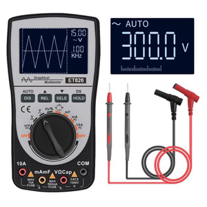 Digital Oscilloscope Waveform Generator Multimeter Tester 4000 counts Oscilloscope Portable LCD Display Auto Test Meter Tools