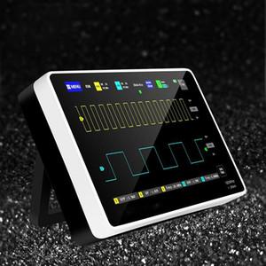 الذبذبات 1013D الذبذبات الرقمية 2 قنوات 100MHz عرض النطاق الترددي 1gsa / s أخذ عينات سعر usb oscososcopio مع اللون tft lcd لمس scree