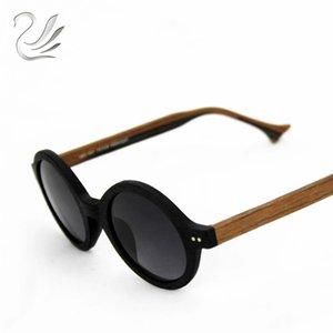 UANLOE 2019 Moda Ahşap Güneş El yapımı Polarize gözlükler Ağaç Damarı Vintage Güneş Gözlükleri Kadın Marka Tasarımcı
