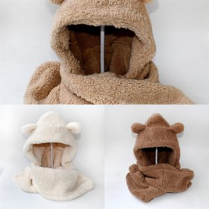 NOCRP Seti Eldiven Beanie Set Çocuk Kış Karikatür Atkılar Örme Kapaklar Eldiven Güzel Eldiven Şapka Şapka Moda Setleri Minions