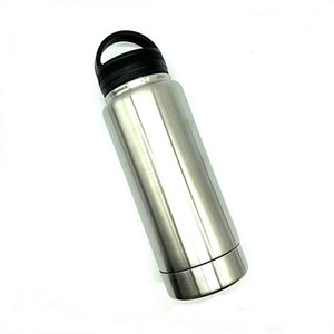 Stainless Steel Tumbler Safe Water Bottle Stash Box Diversion Safe Hidden Safe with huge storage and vacuum keep warm and cold Q1225