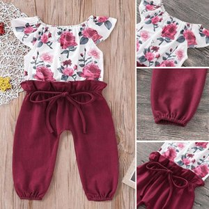 Toddler Baby Girls Floral Romper Bodysuit Playsuit Outfits Kids Clothing Sunsuit