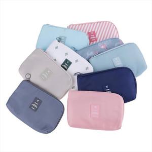 7 Styles Cosmetic Bag Travel Waterproof Portable Flamingo Makeup Bag Toiletry Kits Women Necessaire Make Up