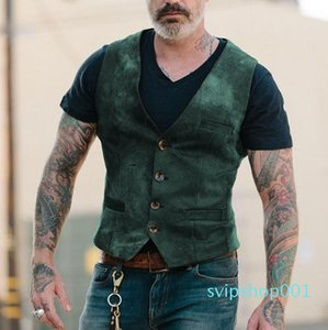 New Arrival Vests Men Mens Sleeveless Jacket Cotton Men's Vest Autumn Winter Casual Retro Coats Male Waistcoat