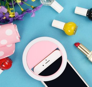 USB Charge LED Selfie Ring Light LED Selfie Lamp Ring for iPhone لسامسونج Xiaom Qyzff dh_niceshop