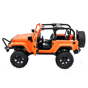 F1 F2 1 14 4WD RC Cars Radio Control RTR Crawler Off-Road Buggy Convertible Open RC Cars For Jeep Vehicle Model w  LED Light Car