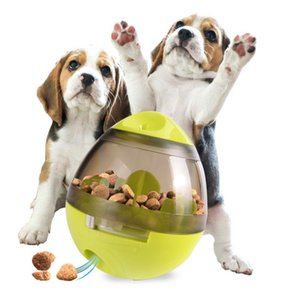 The Latest Pet Tumbler Leaks Food Balls ,You Can Eat While Playing Dog Educational Training Toys Teddy Golden Retriever Pet Supplies