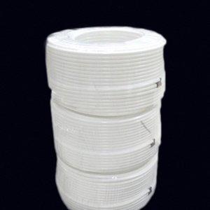 """100M / Rolle weiße Farbe No Mark 1/4"""" 6,35 mm PE-Schlauch Gartenbewässerung Landwirtschaft Schlauch für Niederdruck-Befeuchtungssystem 06P0 #"""