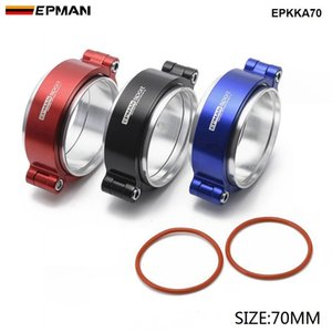 EPMAN HD Exhaust V-band Clamp w Flange System Assenbly Anodized Clamp For 2.75